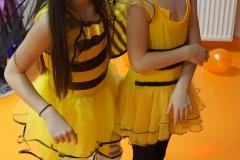 Pszczółki Laura i Ola.