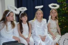 Nasze piękne aniołki (Oliwia, Laura, Karolina, Ola).