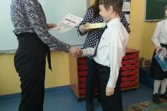 Leon zajął I miejsce w XVIII Międzyszkolnym Konkursie Ortograficznym