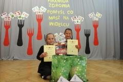 Gratulacje! Hania i Wiktoria zajęły III miejsce.