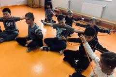 Uczymy się wiązać węzły z instruktorem p. Dawidem Zbroją,