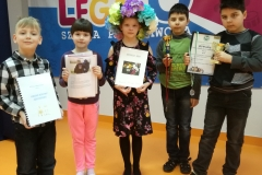 Uczniowie klasy drugiej zaprezentowali swoje projekty