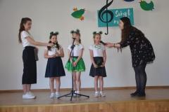 Piosenka o zielonej żabce.