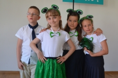 Reprezentacja LEGATO na Konkursie Piosenki Niemieckiej.