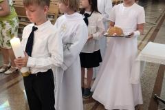 Msza św. - składanie darów.