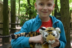 Der Tiger i jego właściciel Miłosz.