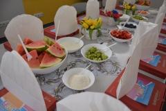 Stół już nakryty - oczekujemy Gości.