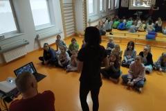 Prelekcja zaciekawiła bardzo starszych uczniów.