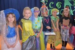 Najmłodsze modelki w naszej szkole.
