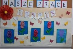 Wiosenne prace naszych uczniów.