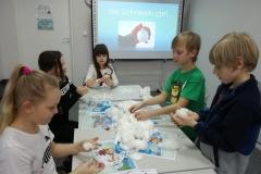 Nie ma śniegu? U nas w klasie 5 jest- robimy Schneebälle.