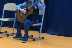 Wiosenny koncert gitarowy  - klasy pana P .Bielca